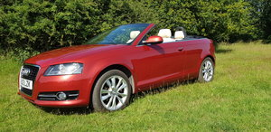 2013 Audi A3 Cabriolet Sport TD Red Convertible For Sale