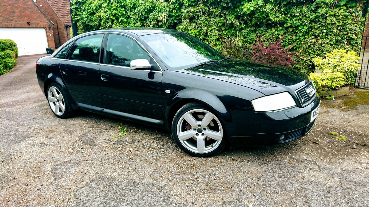 2000 Audi S6 Saloon Saloon (1999 - 2004) C5 4.2 quattro For Sale (picture 1 of 6)