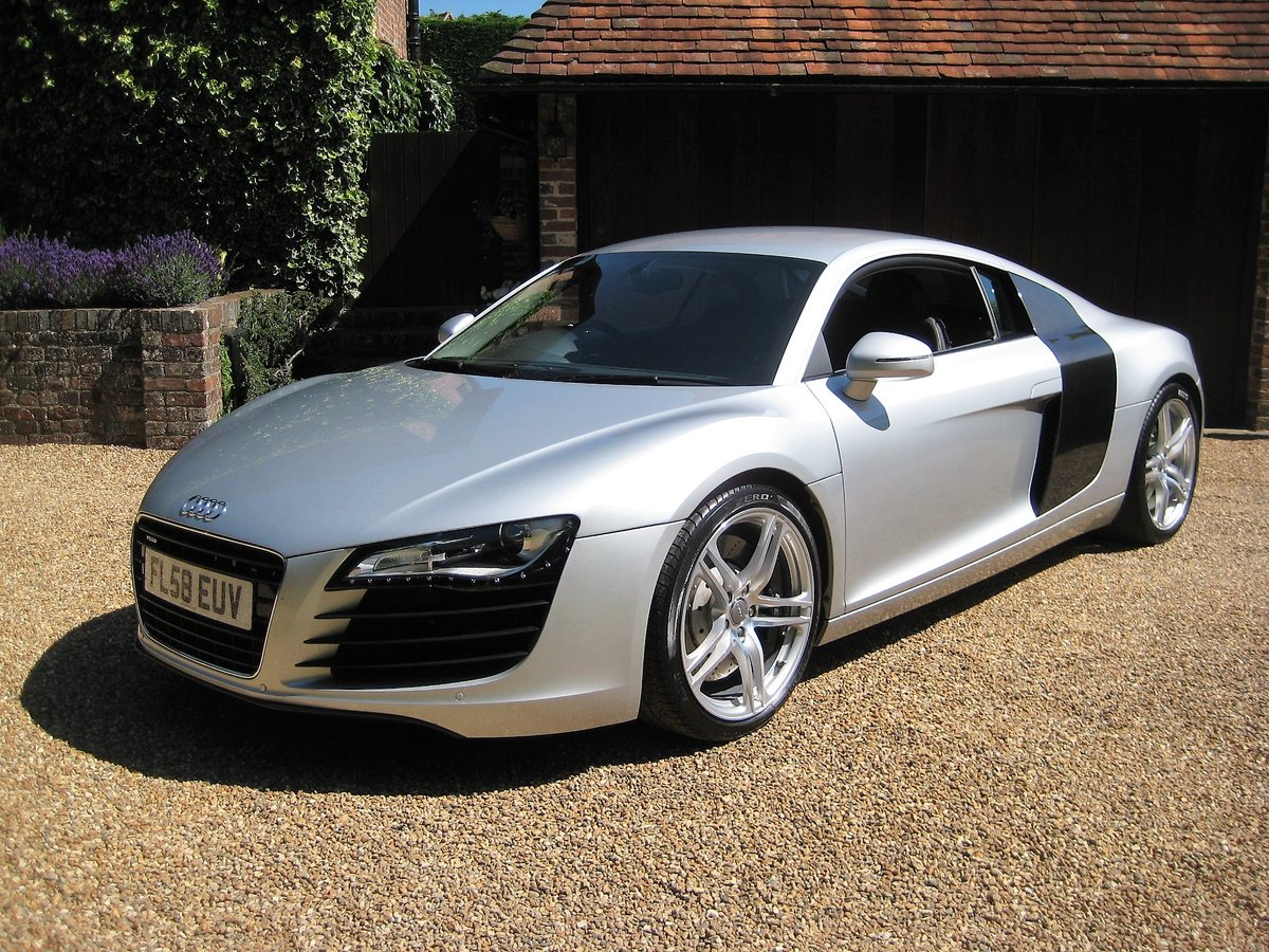 2008 Audi R8 Quattro 1 Owner From New With Only 9,600 Miles For Sale (picture 2 of 6)