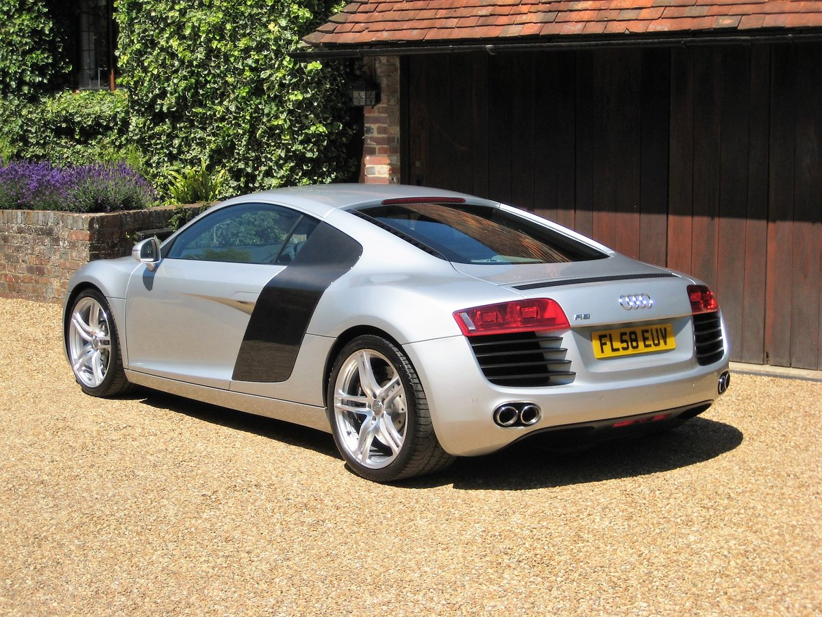 2008 Audi R8 Quattro 1 Owner From New With Only 9,600 Miles For Sale (picture 5 of 6)