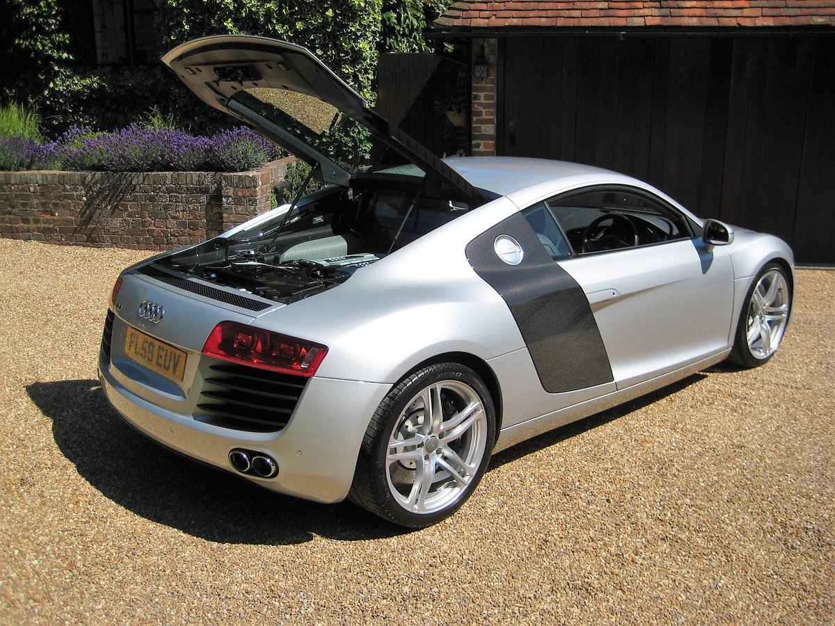 2008 Audi R8 Quattro 1 Owner From New With Only 9,600 Miles For Sale (picture 6 of 6)