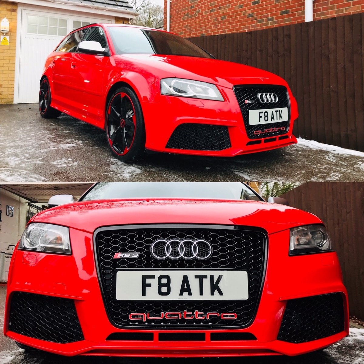 2013 Audi Rs3 8p Only 50k Miles Misano Red With For Sale Car