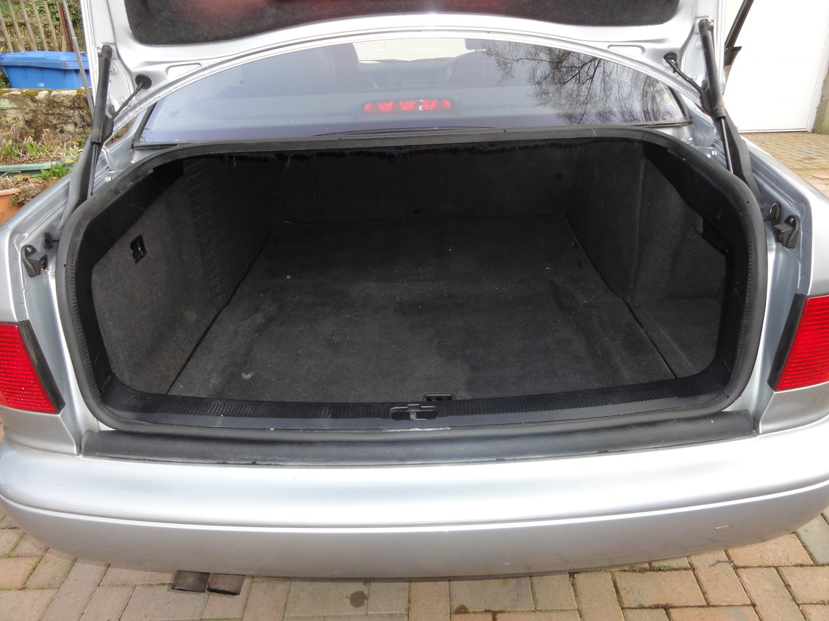 Audi A8 4.2 Quattro Sport 1997 (Series 1) SOLD For Sale (picture 6 of 6)