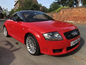 2005 AUDI TT 1.8 QUATTRO SPORT 240 BHP 1 OF 800 WITH COMFORT PACK