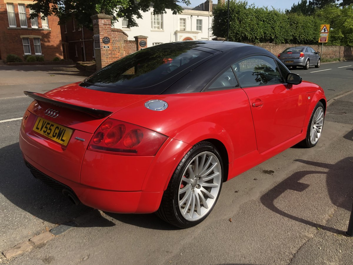 2005 AUDI TT 1.8 QUATTRO SPORT 240 BHP 1 OF 800 WITH COMFORT PACK For Sale (picture 2 of 6)