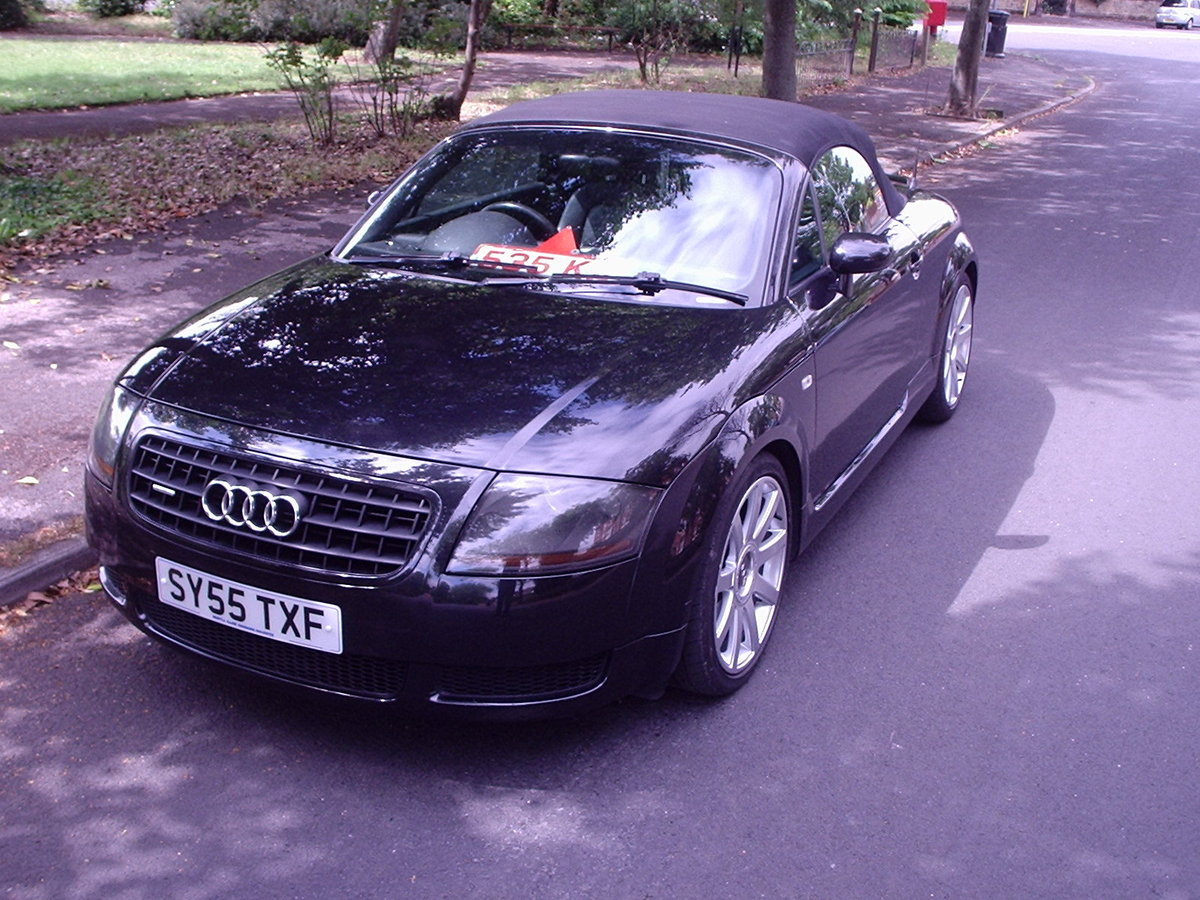 2005 AUDI TT QUATTRO (180bhp) CONVERTIBLE For Sale (picture 2 of 6)
