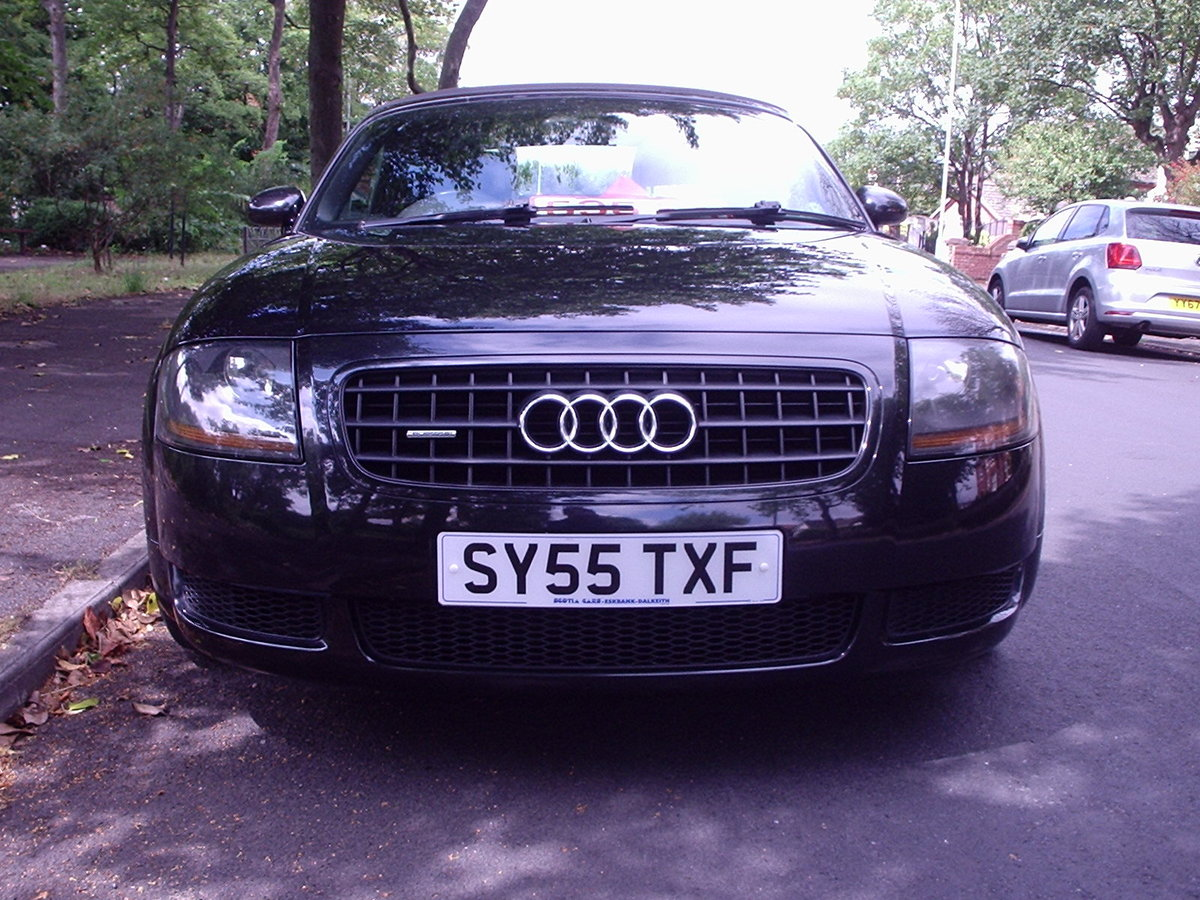 2005 AUDI TT QUATTRO (180bhp) CONVERTIBLE For Sale (picture 3 of 6)