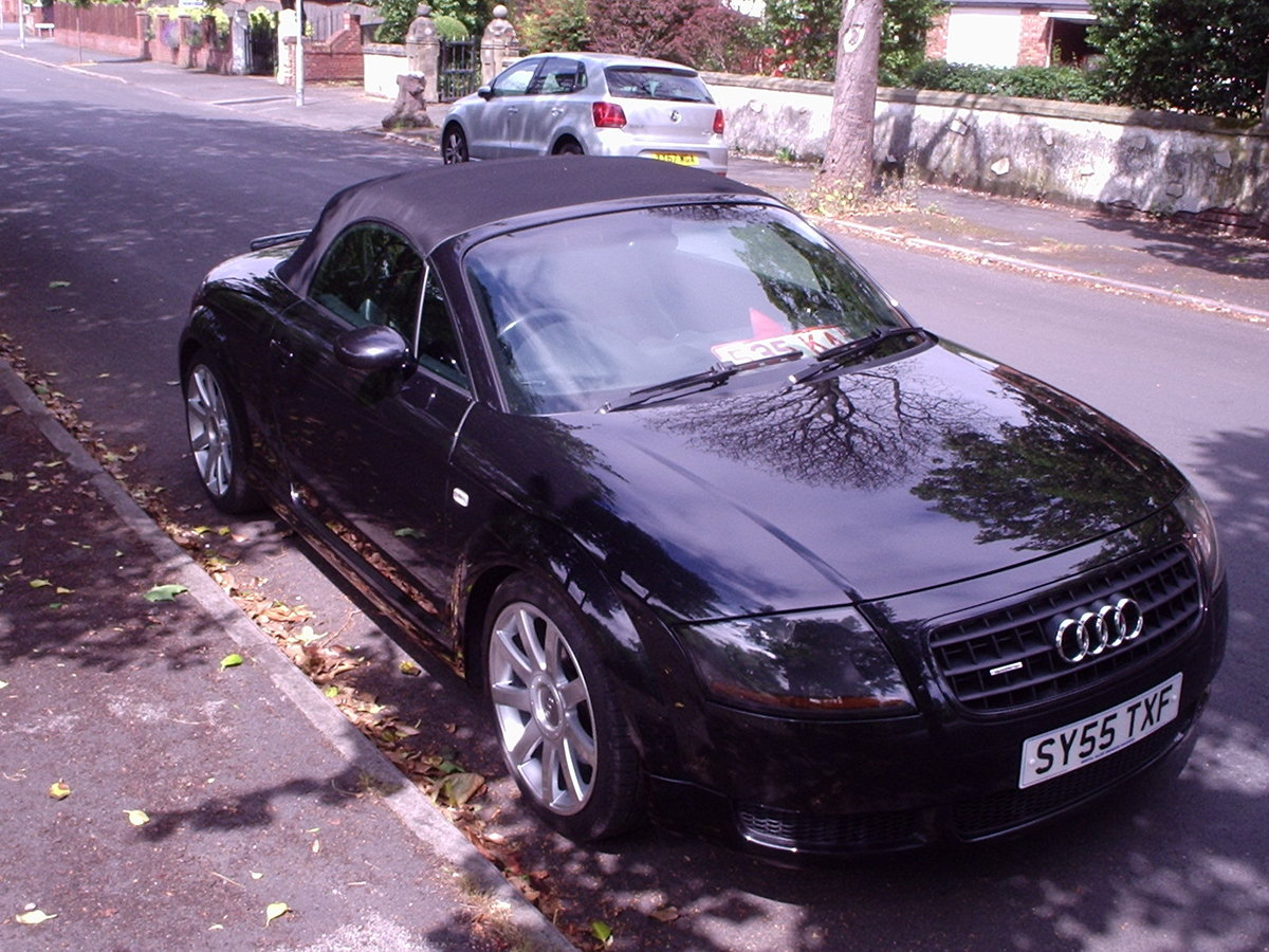 2005 AUDI TT QUATTRO (180bhp) CONVERTIBLE For Sale (picture 4 of 6)
