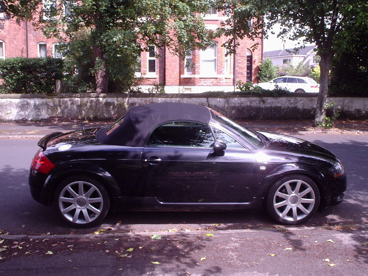 2005 AUDI TT QUATTRO (180bhp) CONVERTIBLE For Sale (picture 5 of 6)