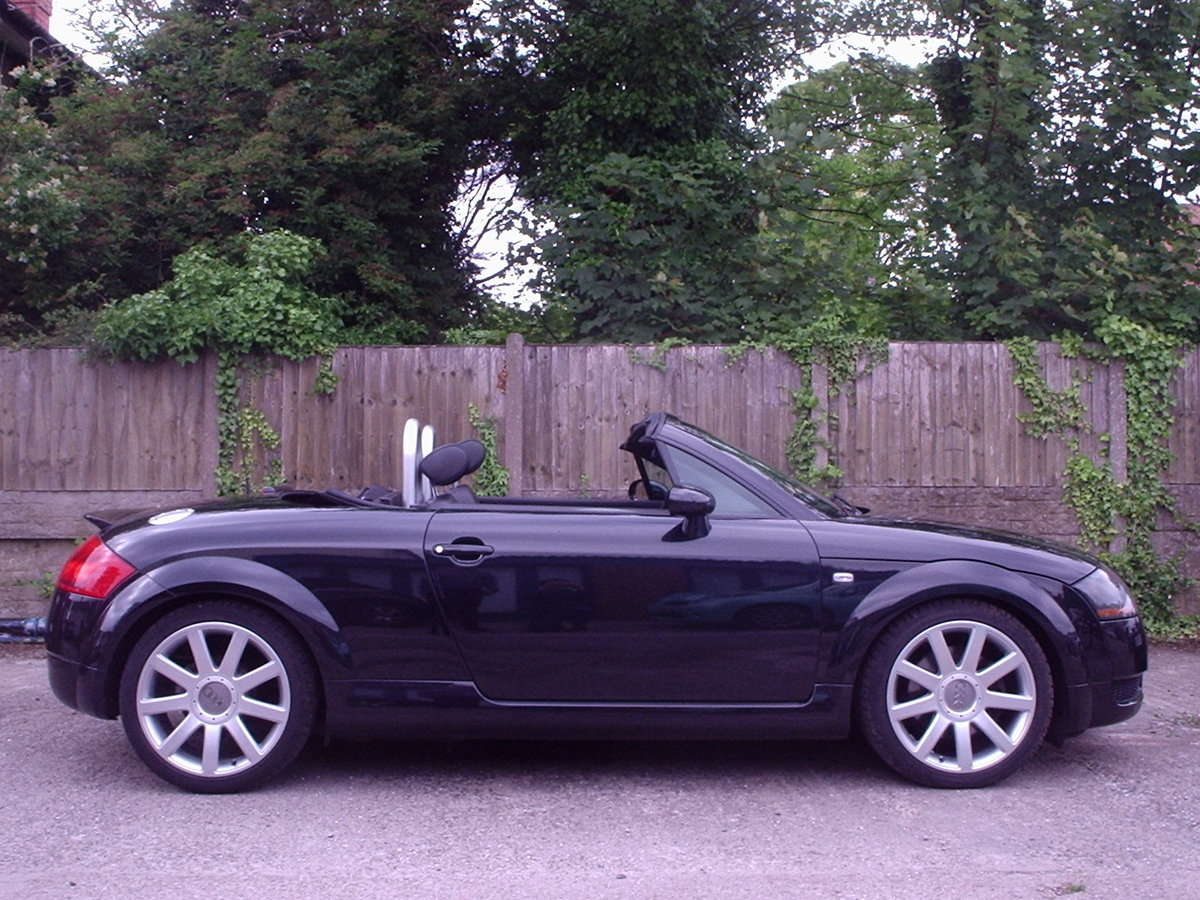 2005 AUDI TT QUATTRO (180bhp) CONVERTIBLE For Sale (picture 6 of 6)