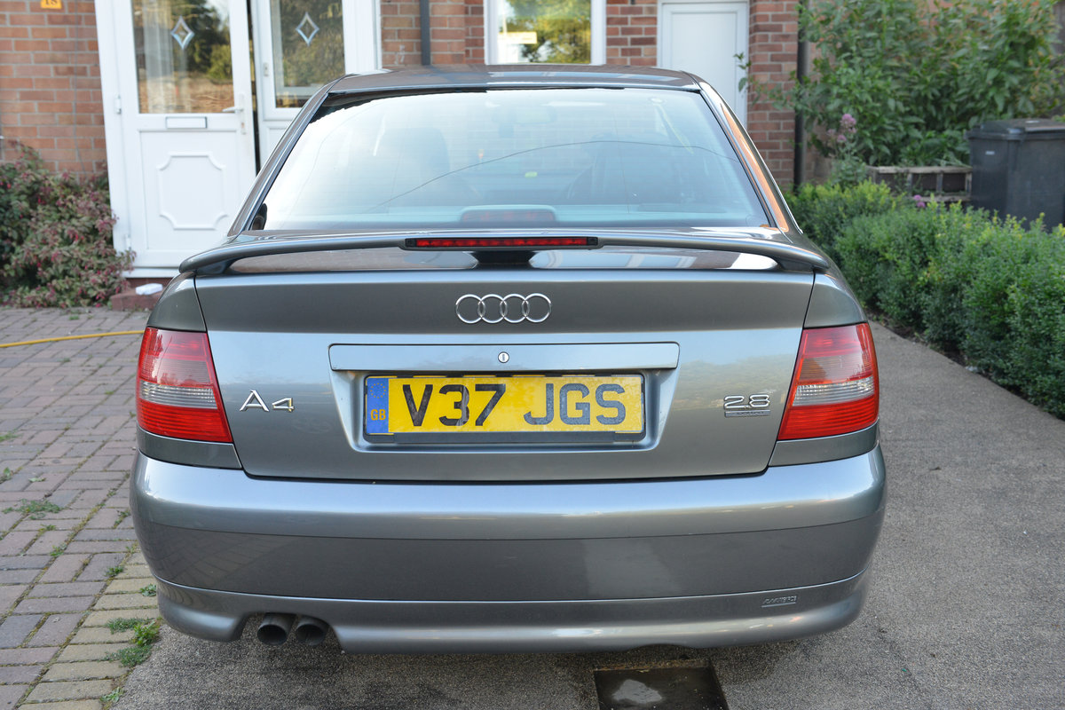 1999 Audi A4 B5 2.8 QUATTRO For Sale (picture 3 of 6)