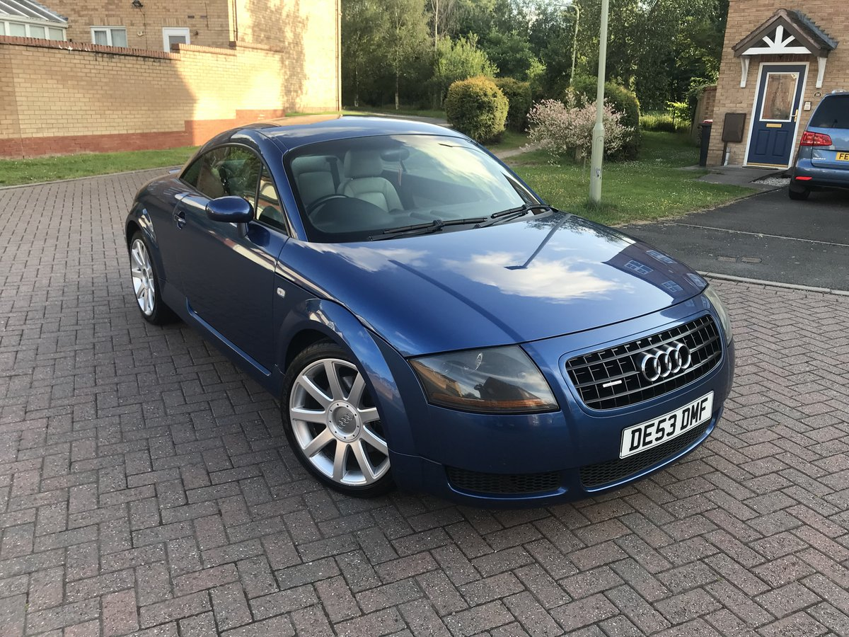 2003 Audi TT 180bhp*Quattro*Rare Mauritius Blue+WHITE Leathe SOLD (picture 2 of 6)