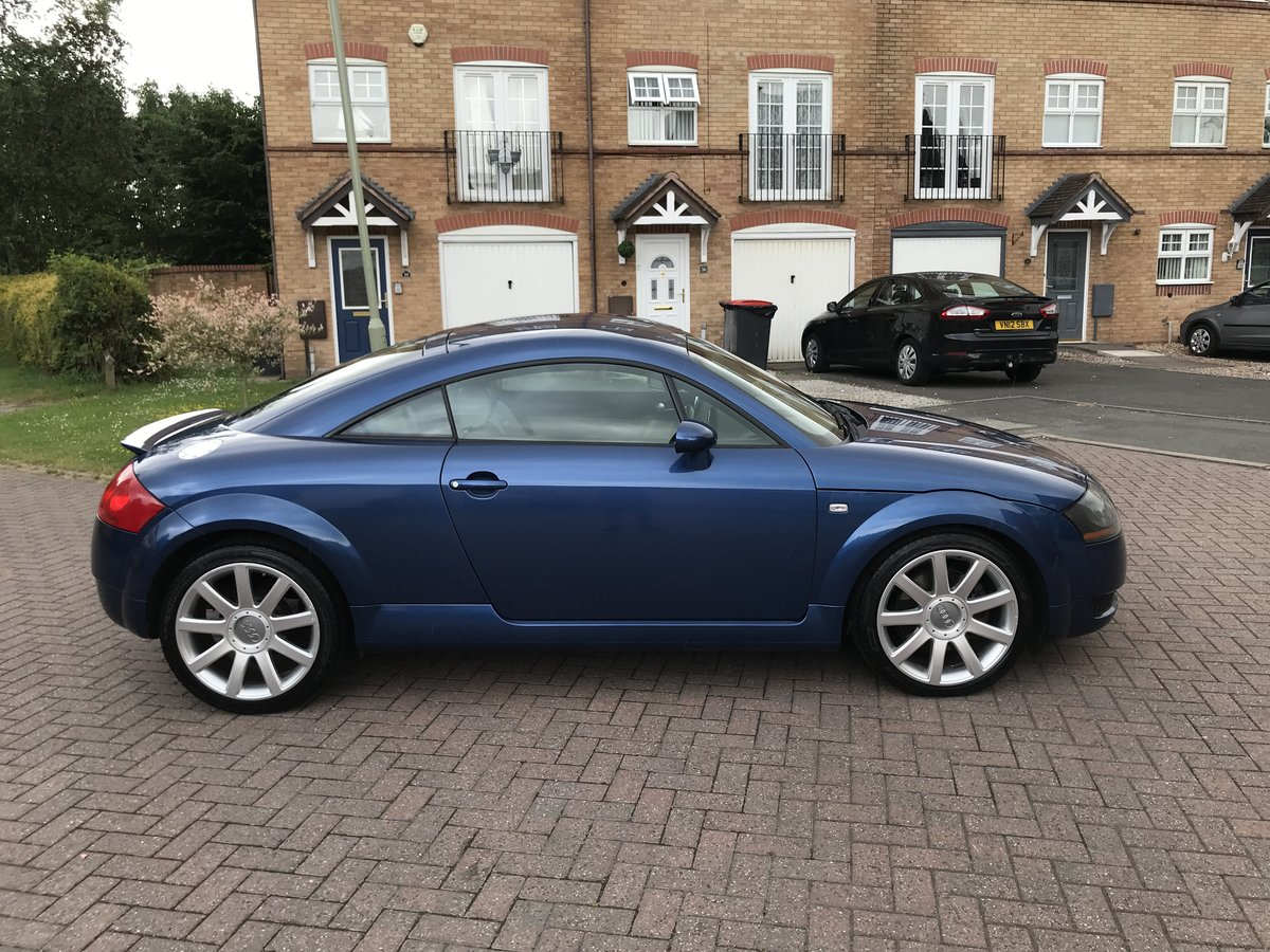 2003 Audi TT 180bhp*Quattro*Rare Mauritius Blue+WHITE Leathe SOLD (picture 3 of 6)