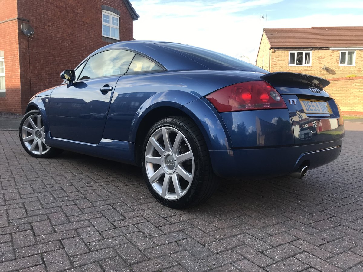 2003 Audi TT 180bhp*Quattro*Rare Mauritius Blue+WHITE Leathe SOLD (picture 4 of 6)