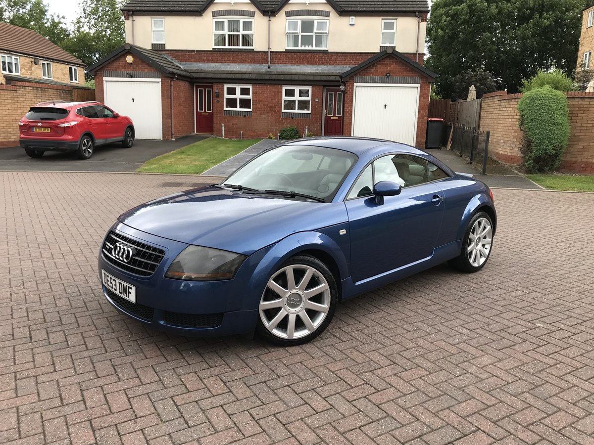 2003 Audi TT 180bhp*Quattro*Rare Mauritius Blue+WHITE Leathe SOLD (picture 5 of 6)