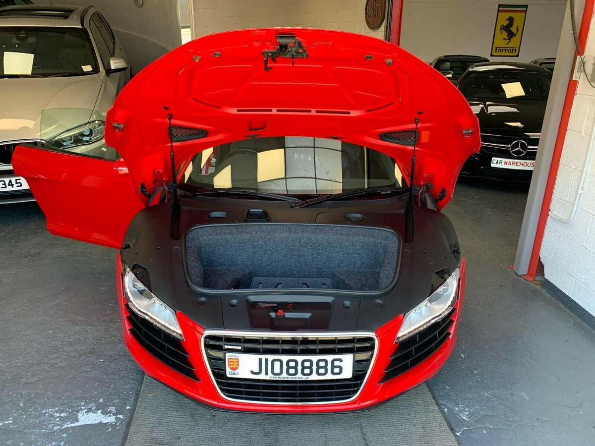 2008 Audi R8 4.2 21,000 miles manual Jersey Car For Sale (picture 6 of 6)