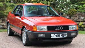 1991 AUDI 80 2.0E SPORT PACK - 66000 MILES - SHOW CAR For Sale