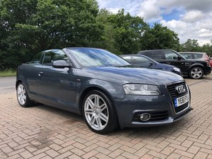 2011  (61) Audi A3 1.6 TDI S-Line Cabriolet