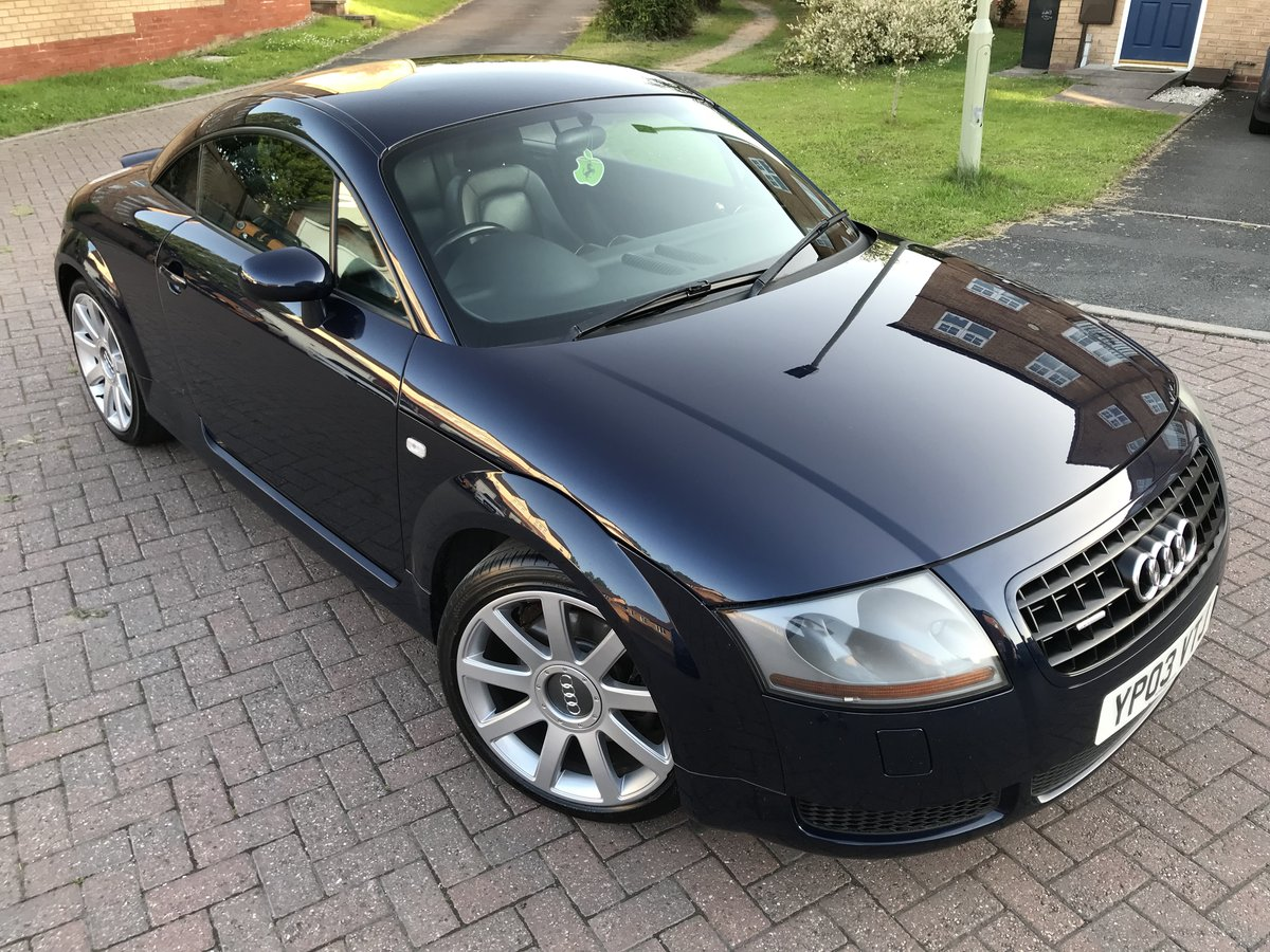 2003 Audi TT 225bhp*Quattro*Facelift*BOSE*Full Leather*MINT* SOLD (picture 1 of 6)