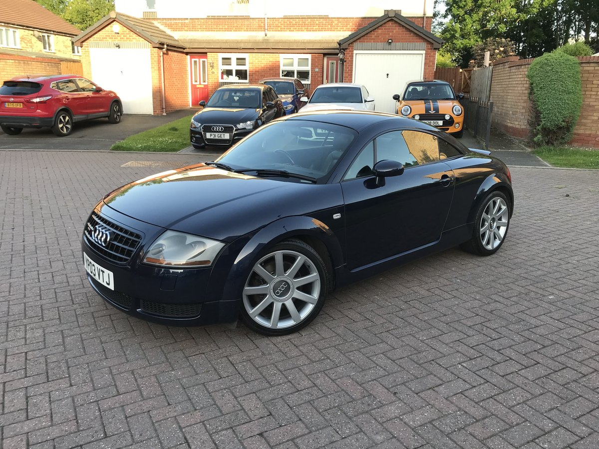 2003 Audi TT 225bhp*Quattro*Facelift*BOSE*Full Leather*MINT* SOLD (picture 4 of 6)