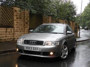 2003 Audi A4 (B6) 2.5 TDI Quattro Sport 180BHP AVANT AUTO  SOLD