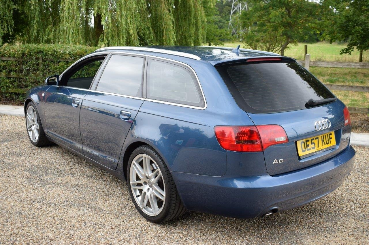 2007 Audi A6 Avant QUATTRO 3.0TDI Automatic Le Mans Edition For Sale (picture 2 of 6)