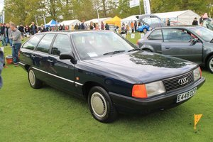 Superb 1987 Audi 100 CC Avant (C3) manual For Sale