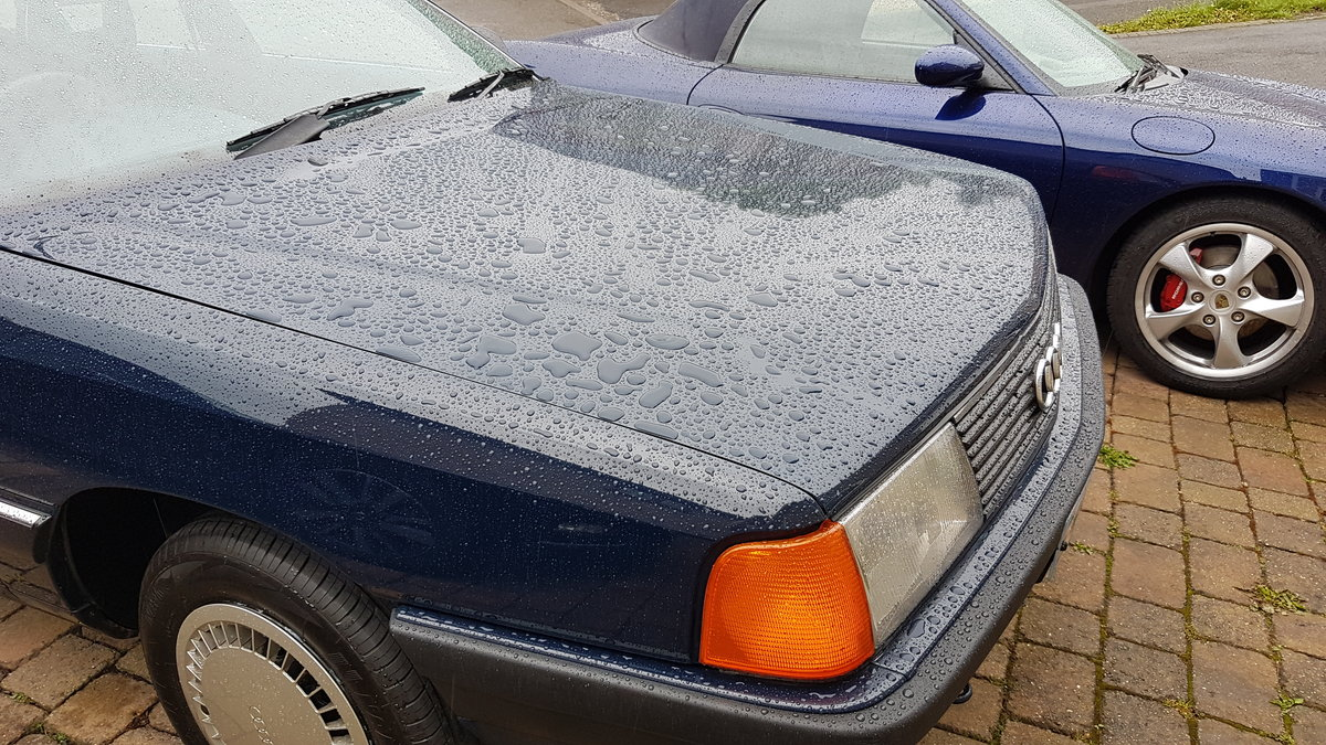 Superb 1987 Audi 100 CC Avant (C3) manual For Sale (picture 3 of 6)