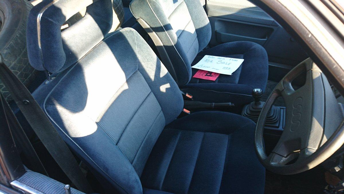 Superb 1987 Audi 100 CC Avant (C3) manual For Sale (picture 4 of 6)