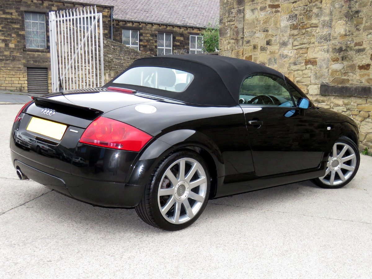 2003 Audi TT Quattro Roadster (180) - 69K Miles - Superb Example SOLD (picture 2 of 6)