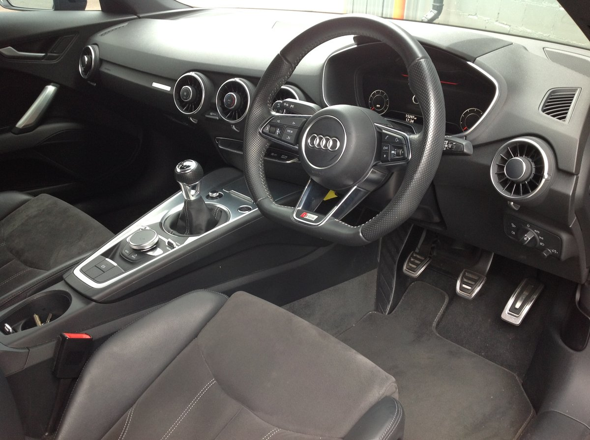 2016 AUDI TT FSI ONLY 15000 GENUINE LOW MILEAGE For Sale (picture 6 of 6)