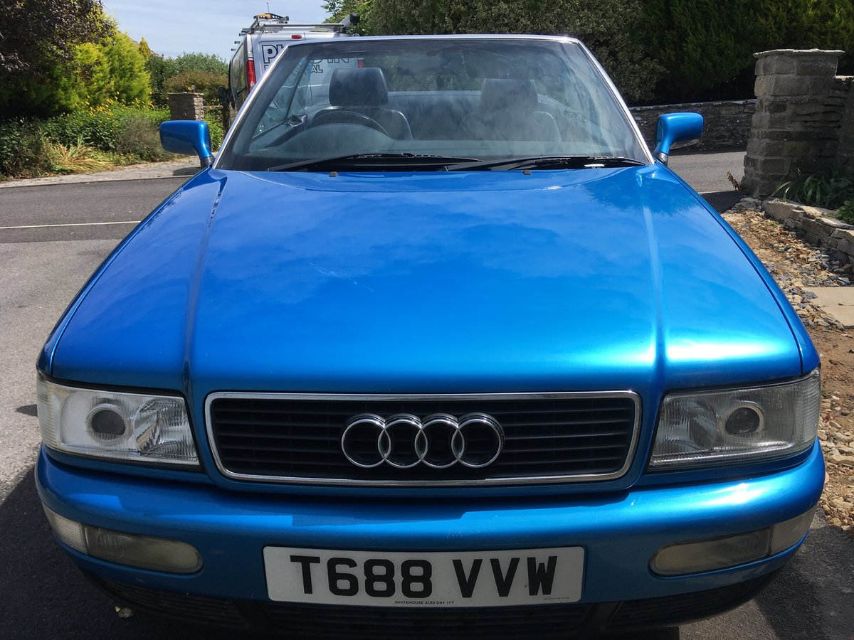 Audi 80 Cabriolet 2.6 V6 Auto 1999 Kingfisher Blue SOLD (picture 4 of 6)