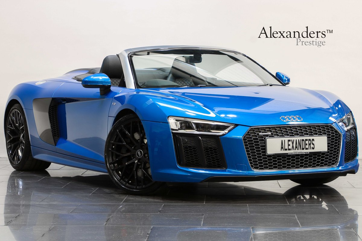 2017 17 17 AUDI R8 5.2 V10 SPYDER AUTO For Sale (picture 1 of 6)