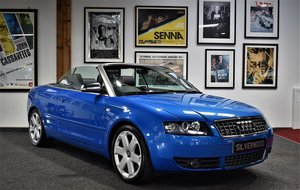 2005 Audi S4 4.2 V8 Cabriolet Full Audi history, One owner! For Sale