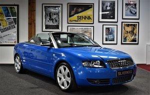 2005 Audi S4 4.2 V8 Cabriolet Full Audi history, One owner!