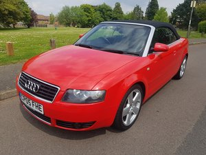 2005 AUDI A4 1.8T S LINE CONVERTIBLE For Sale
