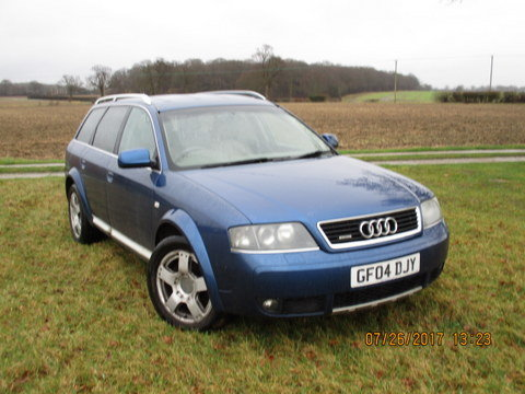 2004 Audi A6 Avant bi turbo 2.7 allroad C5 Quattro For Sale (picture 1 of 6)