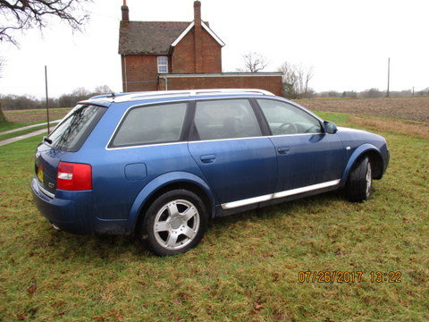 2004 Audi A6 Avant bi turbo 2.7 allroad C5 Quattro For Sale (picture 2 of 6)