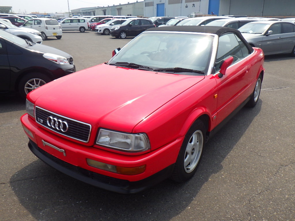 AUDI CABRIOLET 1995 CONVERTIBLE 2.6E * FRESH IMPORT * LOW MI For Sale (picture 1 of 6)