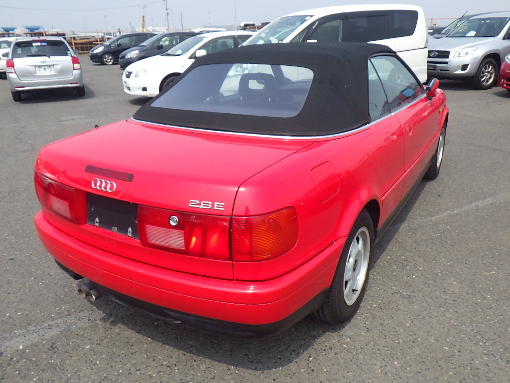 AUDI CABRIOLET 1995 CONVERTIBLE 2.6E * FRESH IMPORT * LOW MI For Sale (picture 2 of 6)