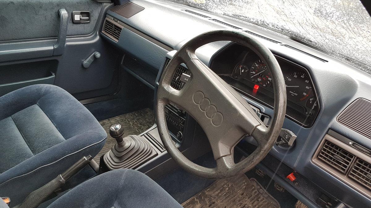 Superb 1987 Audi 100 CC Avant (C3) manual For Sale (picture 5 of 6)