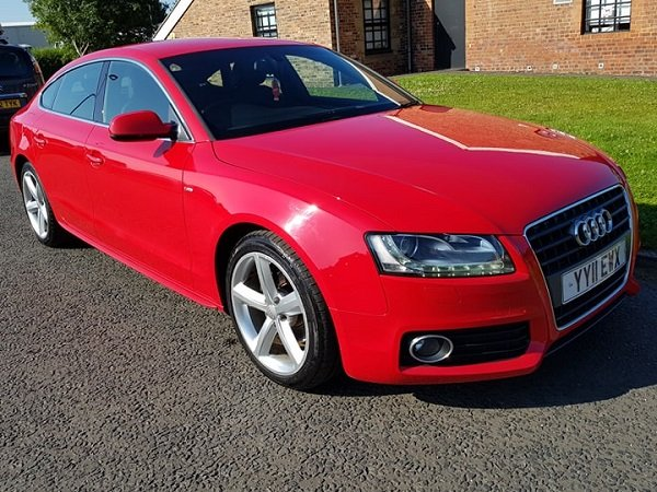2011 Audi A5 2.0 TDI 170 S LINE S/S Sportback For Sale (picture 1 of 6)
