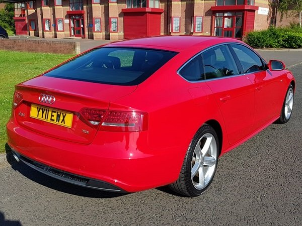 2011 Audi A5 2.0 TDI 170 S LINE S/S Sportback For Sale (picture 2 of 6)