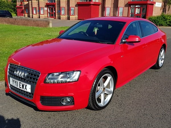 2011 Audi A5 2.0 TDI 170 S LINE S/S Sportback For Sale (picture 4 of 6)