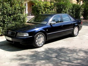 2000 Final Edition S8 Quattro Sport Navigation Manual  For Sale