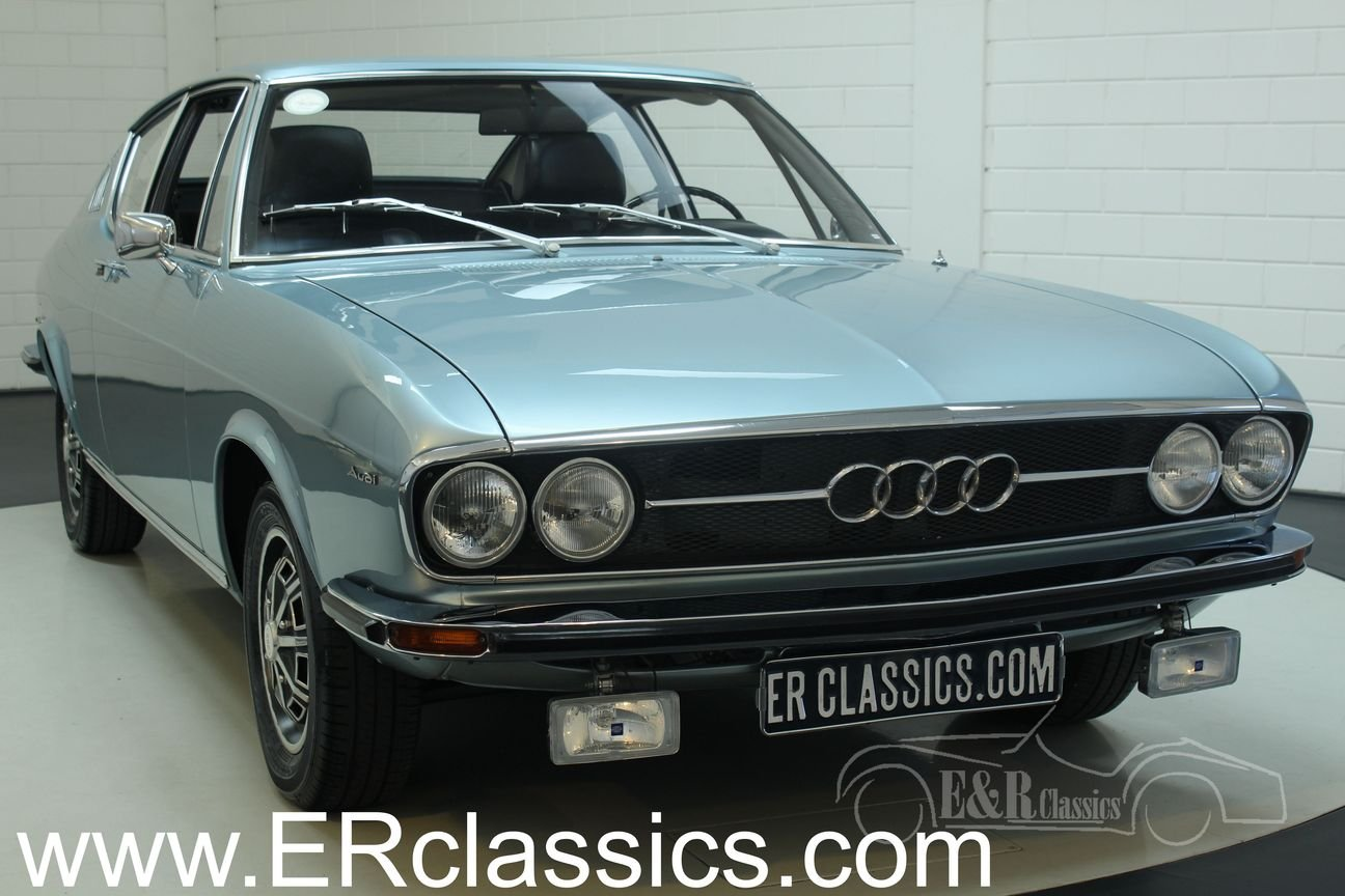 Audi 100 S Coupe 1972 Restored For Sale (picture 1 of 6)