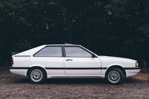 1985 Audi Coupe GT 2.0 Automatic, 1 previous owner