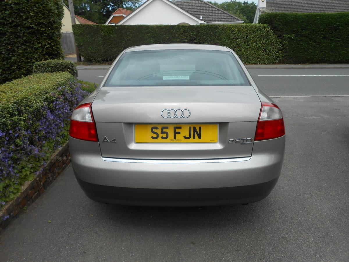 2001 Audi a4 tdi quattro se For Sale (picture 3 of 6)