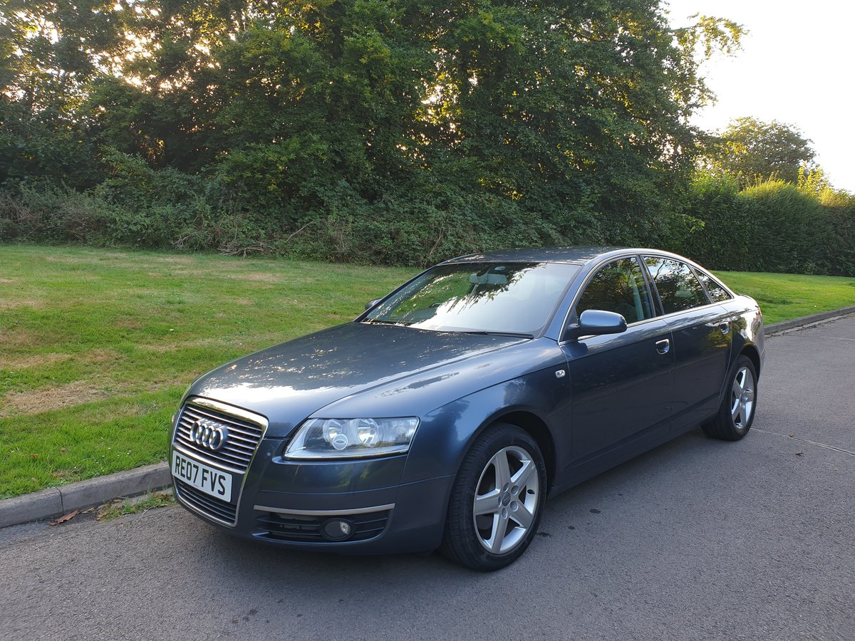 2007 Audi A6 SE 2.0 TDi.. 1 Driver Owned. Lovely Example. Bargain SOLD (picture 1 of 6)