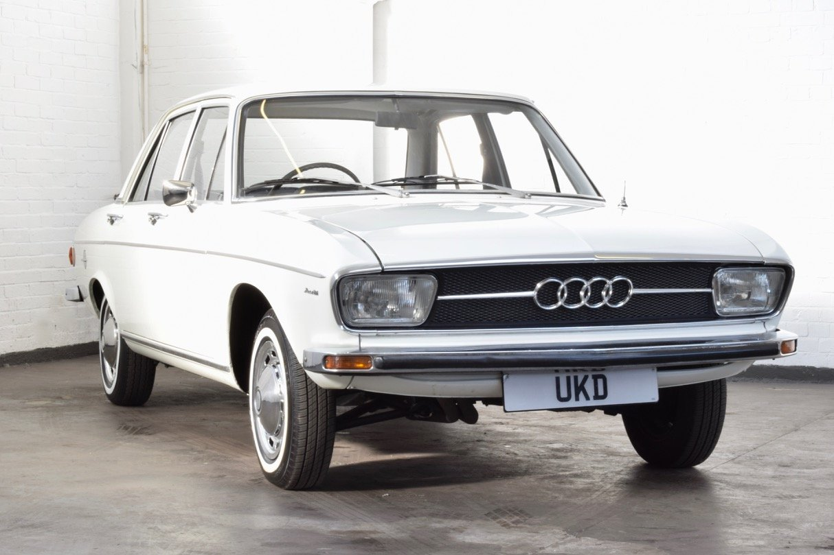 AUDI 100 LS 1.8 WHITE SALOON 1970 4DR SUMMER SALE! For Sale (picture 1 of 10)